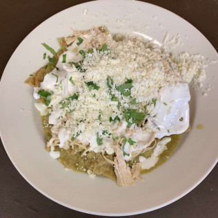 CHILAQUILES (Green or Red)